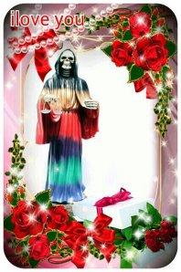 Santa Muerte Devotional Image