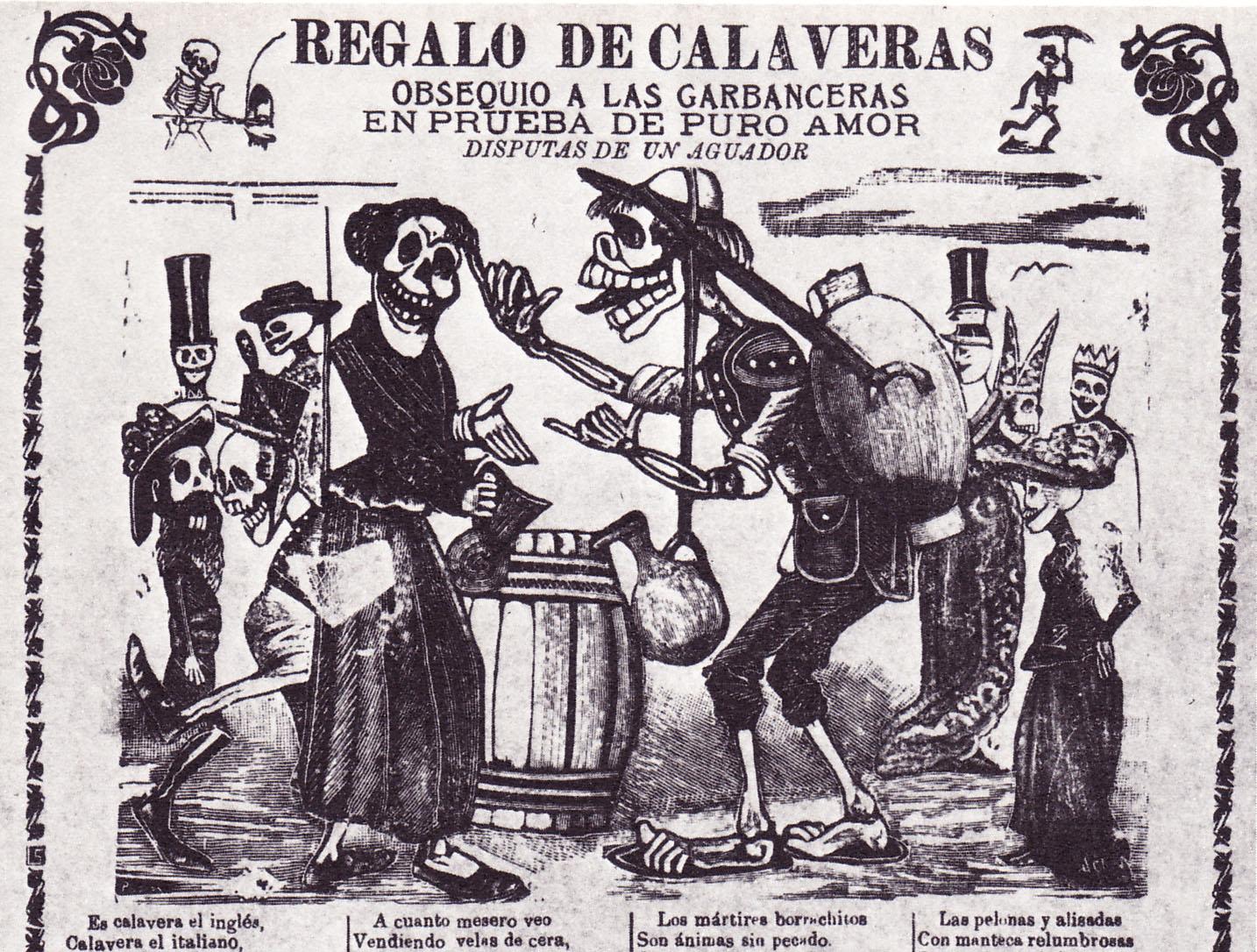 Regalo de calaveras – Morbid Anatomy Library – Most Holy Death