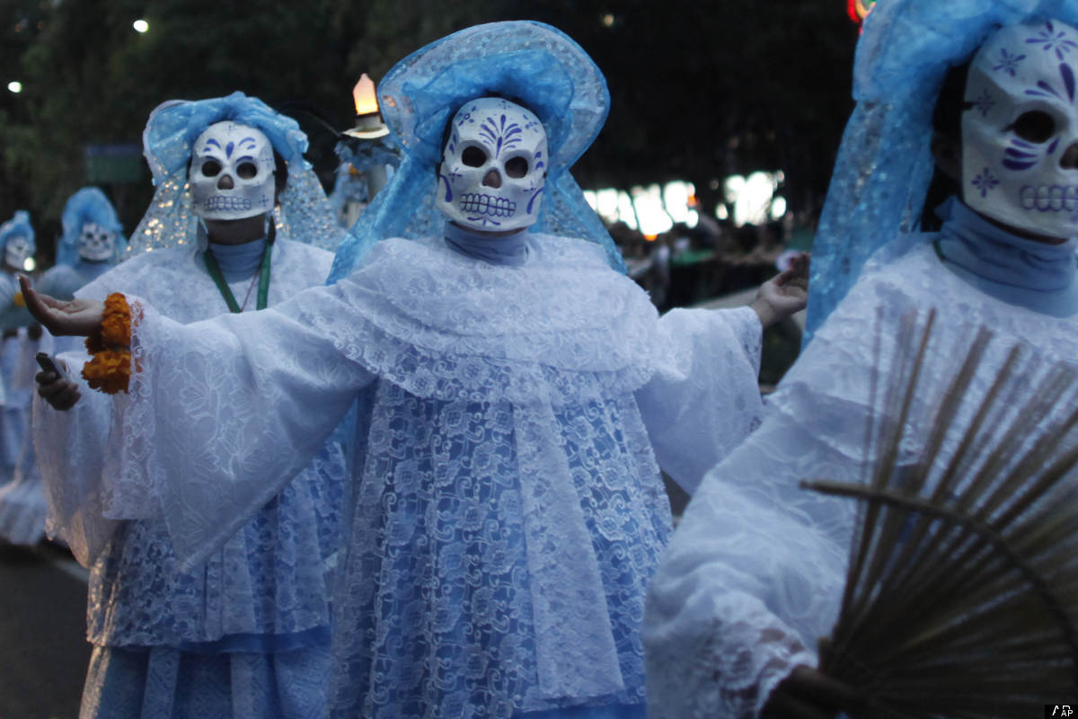 an overview of the death rituals in mexico Surrounding death and dying and what funeral or burial rituals may be undertaken the material.