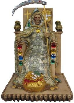 La Santa Muerte del Dinero