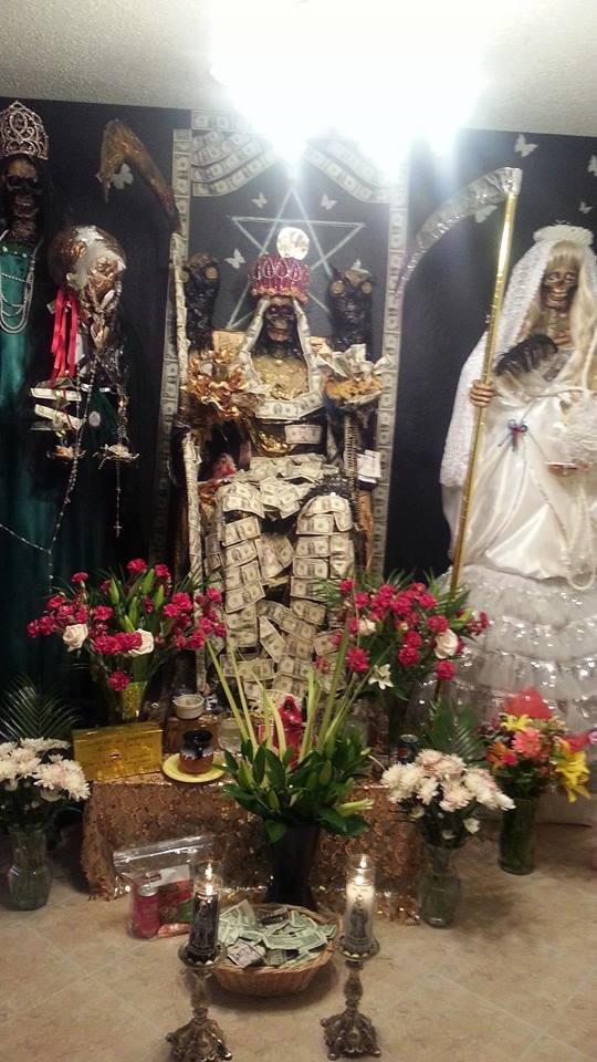 Death & Taxes – Santa Muerte, Saint of Good Fortune – Most Holy Death