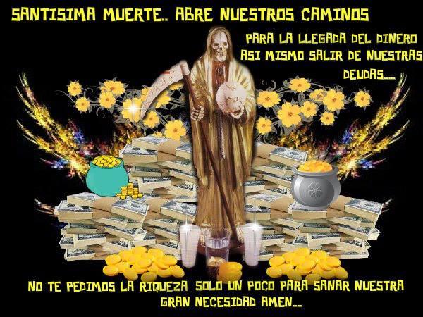 Death & Taxes – Santa Muerte, Saint of Good Fortune – Most