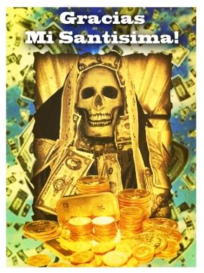 Santa Muerte del Dinero