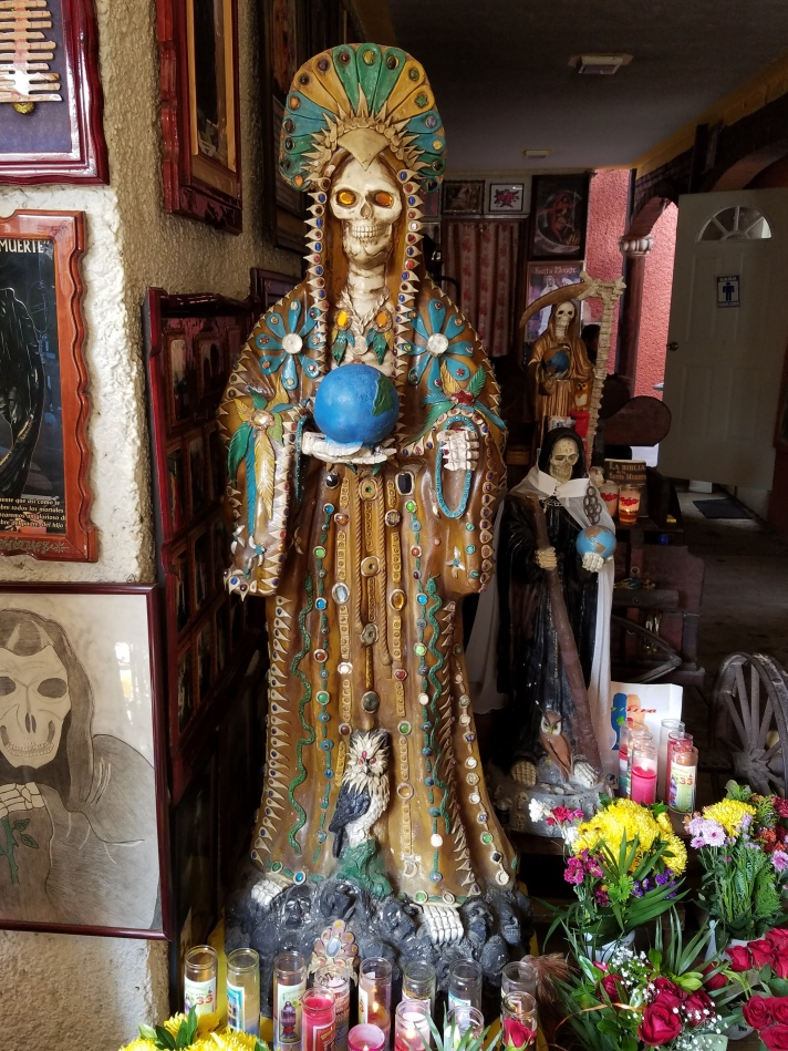 House Of Holy Death The Santa Muerte Shrine Of Michoacan