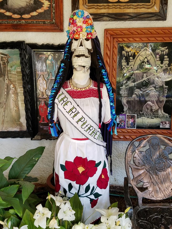 Move Over Mictecacihuatl: Santa Muerte as Purepecha Goddess