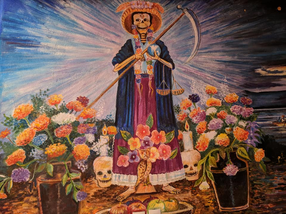 Mexican Indigenous Death Goddesses Xaratanga and Mictecacihuatl